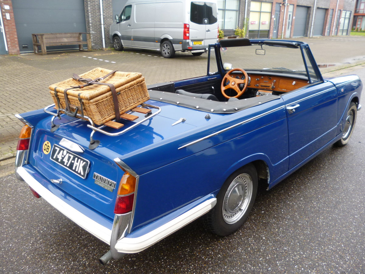 Triumph Herald 1970 LHD convertible For Sale (picture 4 of 6)