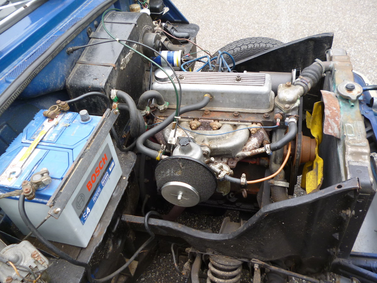 Triumph Herald 1970 LHD convertible For Sale (picture 5 of 6)