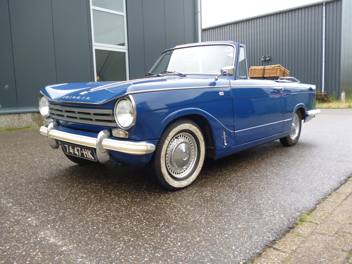 Triumph Herald 1970 LHD convertible For Sale (picture 6 of 6)