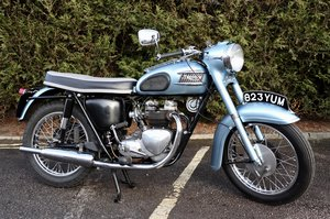 1962 Triumph 3TA/T21 350cc Twin Great Condition !