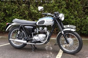 1968 Triumph T90 350cc Twin Matching Numbers