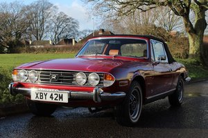 Triumph Stag Auto 1974 - To be auctioned 31-01-2020