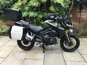 2015 Triumph Tiger Explorer XC1215, With Extras, FSH, Immaculate