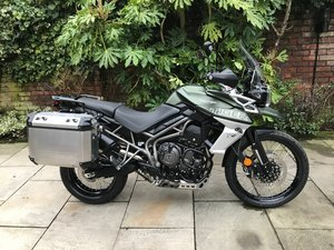 2019 Triumph Tiger 800 XCX, Low Bike Panniers, FSH, Immaculate SOLD