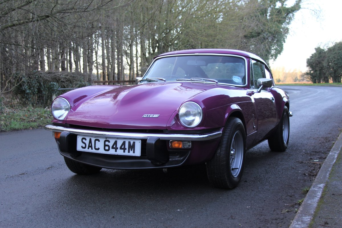 1974 Triumph GT6 MkIII, Show Standard, Fully Restored For Sale (picture 3 of 18)