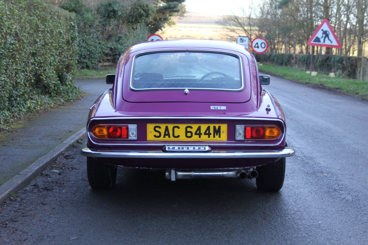 1974 Triumph GT6 MkIII, Show Standard, Fully Restored For Sale (picture 5 of 18)
