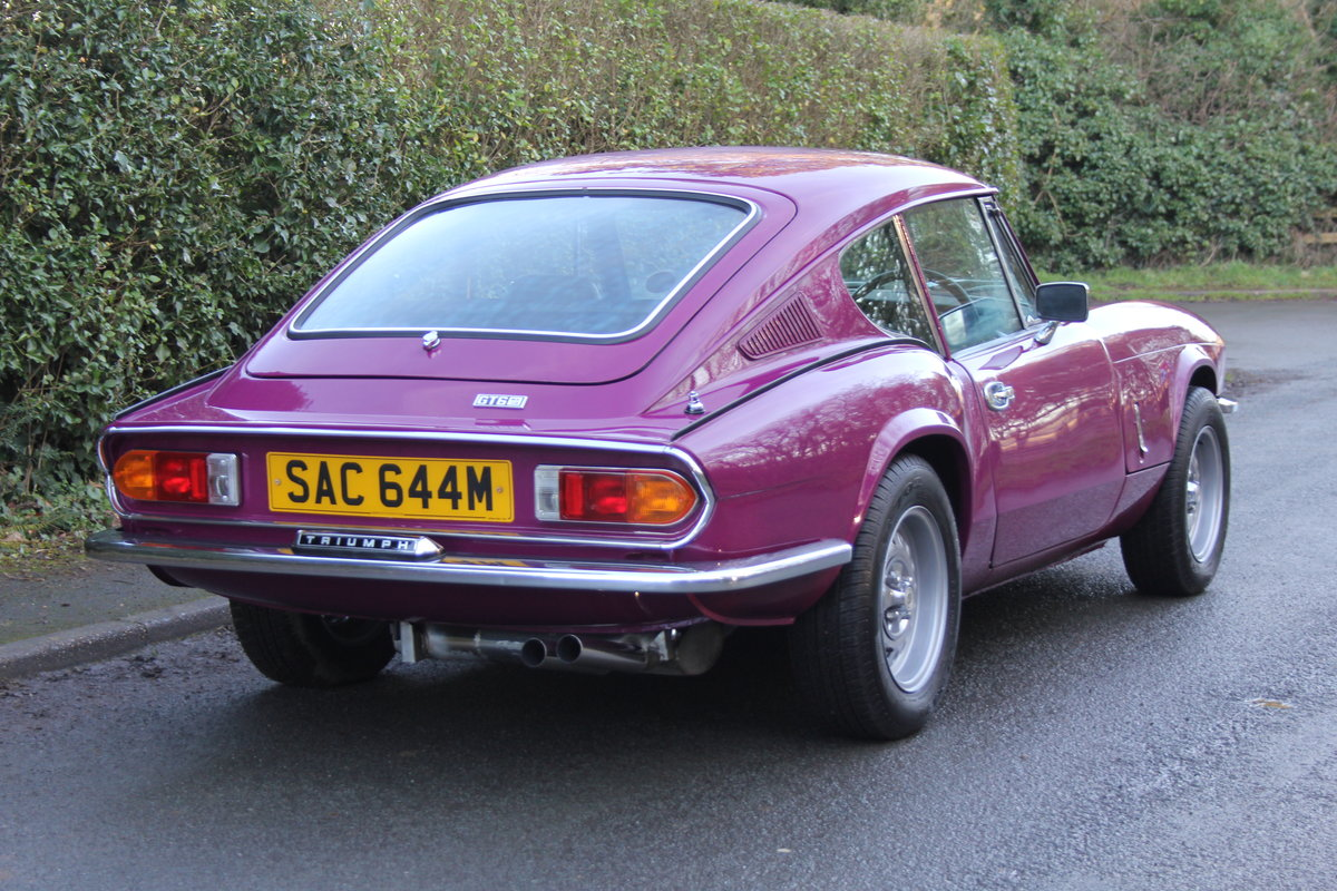 1974 Triumph GT6 MkIII, Show Standard, Fully Restored For Sale (picture 6 of 18)