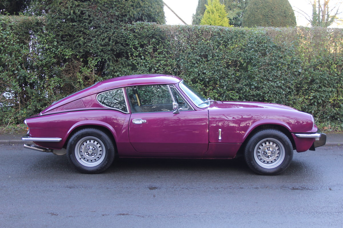 1974 Triumph GT6 MkIII, Show Standard, Fully Restored For Sale (picture 7 of 18)