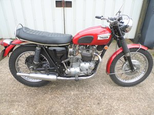 1970 Triumph tr6r tiger 650 two owner