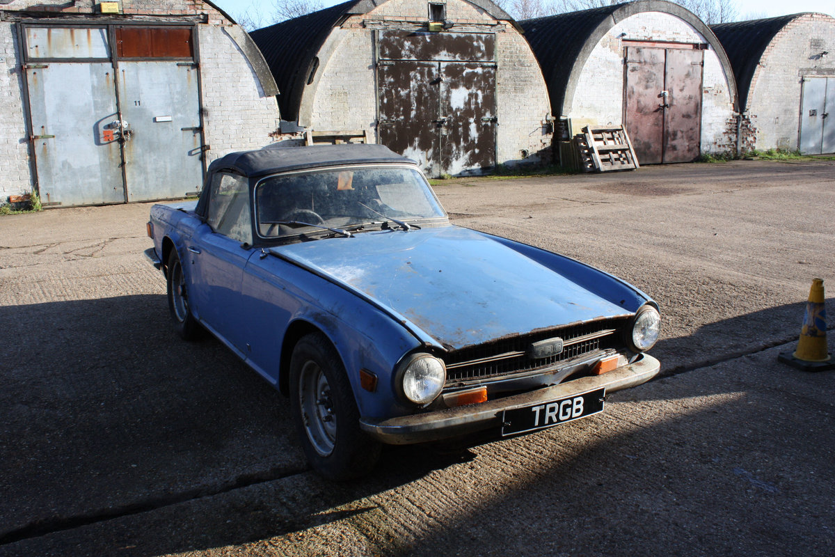 BARN FIND TR6 1971 GENUINE 150 BHP CAR WITH OVERDRIVE. SOLD (picture 6 of 6)