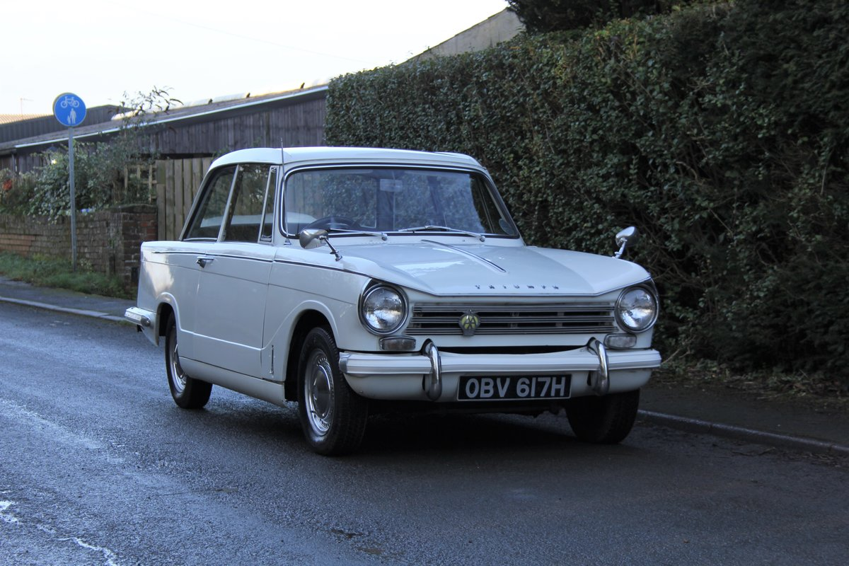1970 Triumph Herald 13/60, 53700 miles, Superb History For Sale (picture 1 of 17)