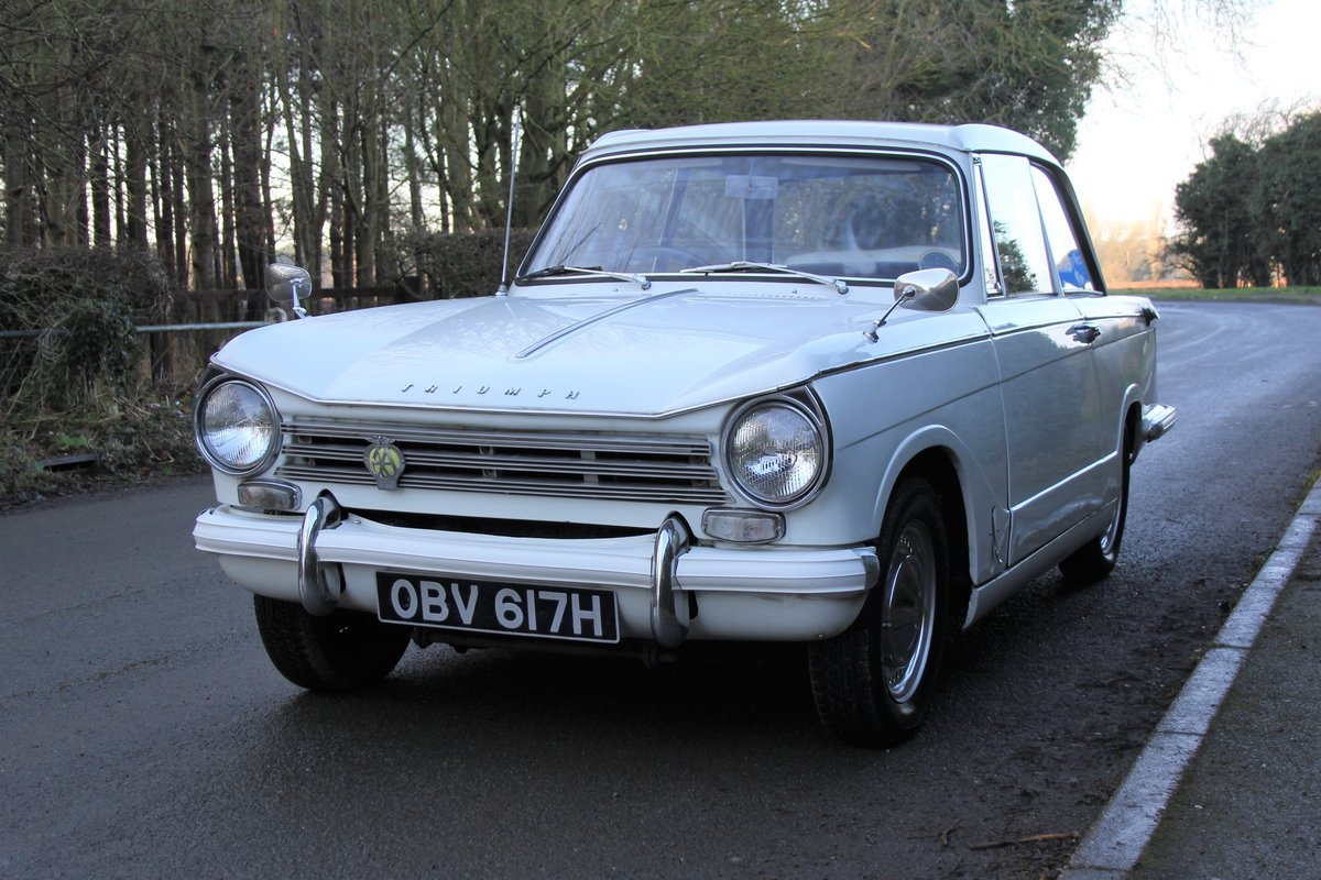 1970 Triumph Herald 13/60, 53700 miles, Superb History For Sale (picture 3 of 17)