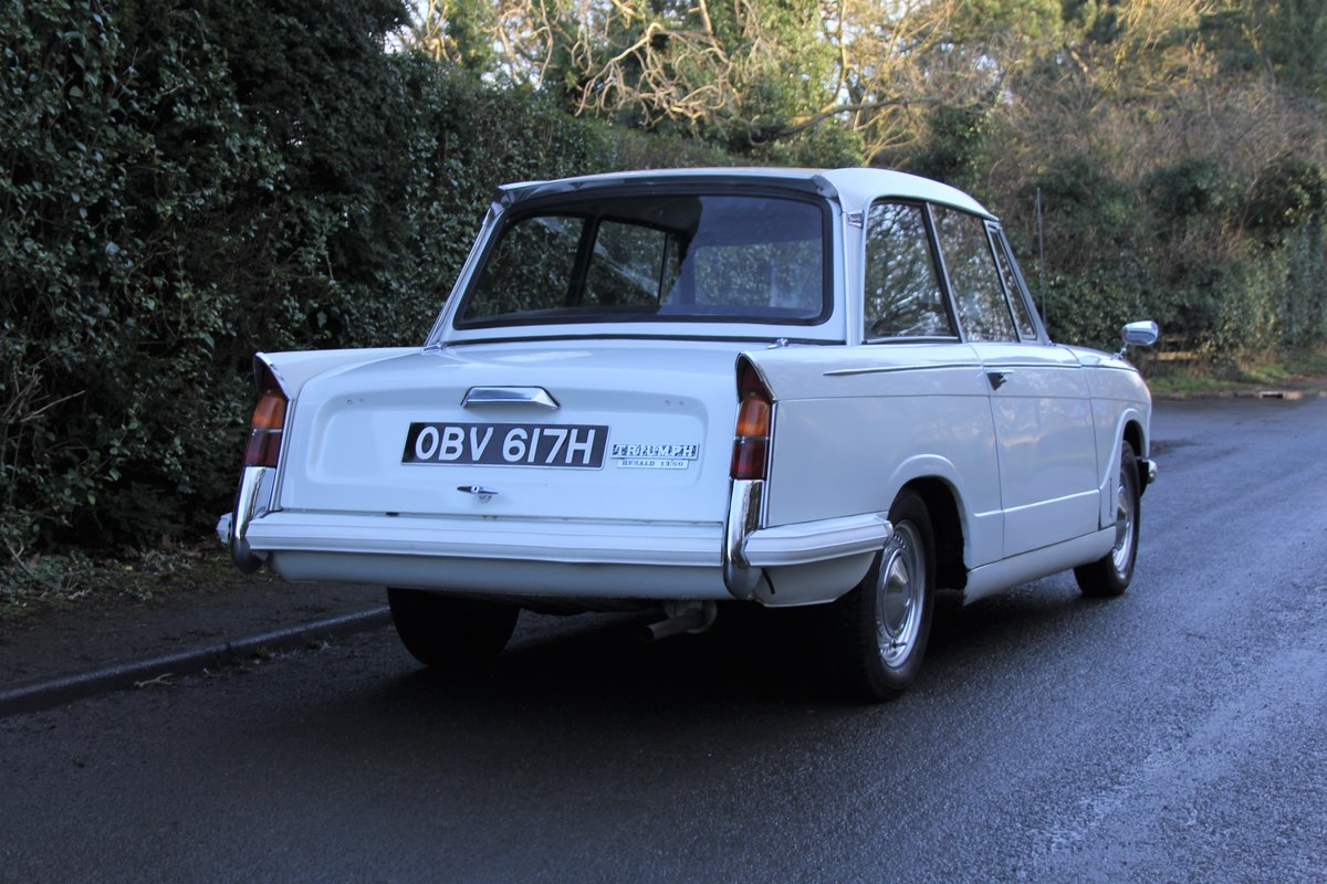 1970 Triumph Herald 13/60, 53700 miles, Superb History For Sale (picture 6 of 17)