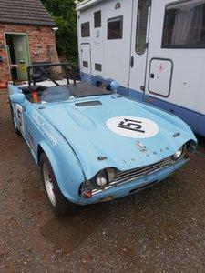 1965 Triumph Tr4  Race car