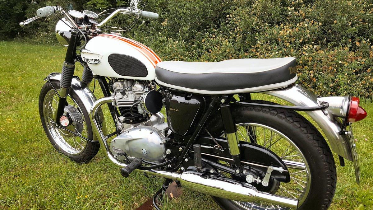 1966 Triumph Bonneville T120R  For Sale (picture 1 of 5)