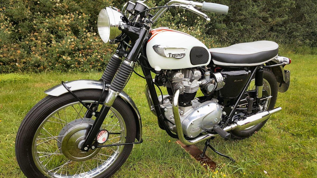 1966 Triumph Bonneville T120R  For Sale (picture 2 of 5)