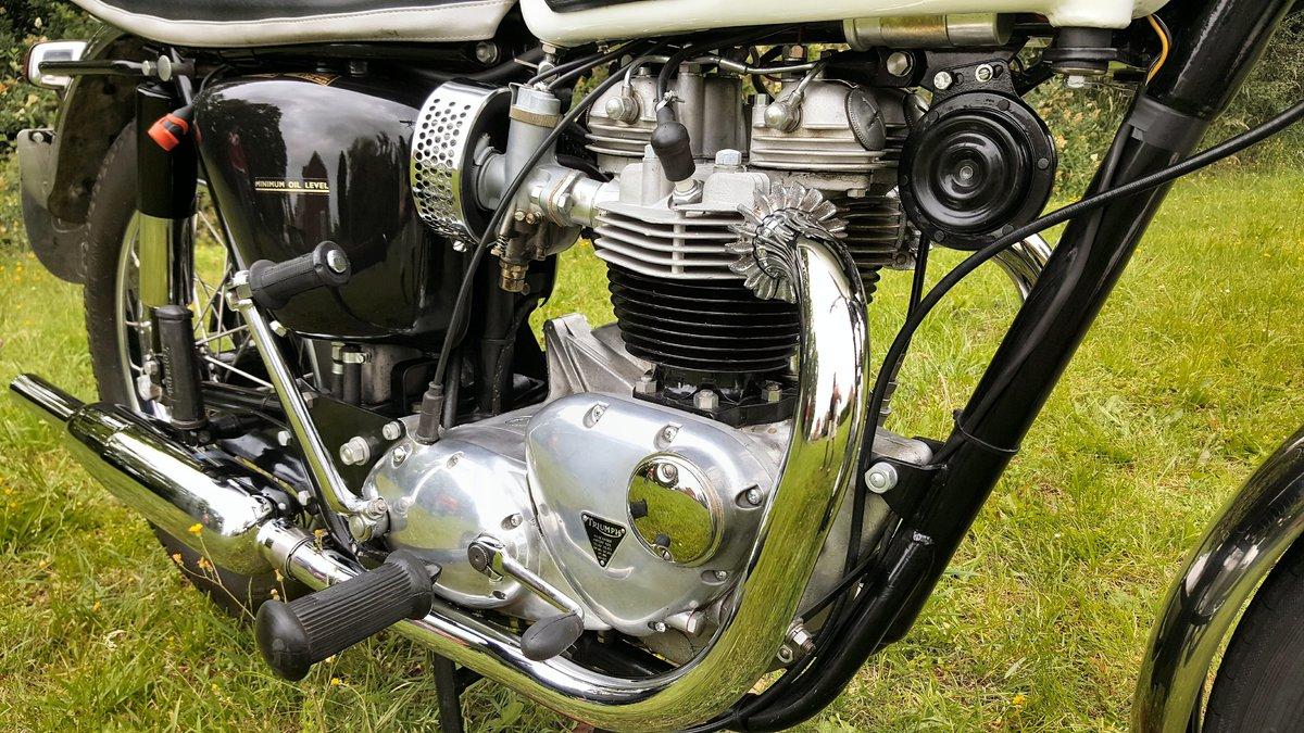 1966 Triumph Bonneville T120R  For Sale (picture 3 of 5)