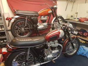 Pair of Triumph Bonneville T120Rs 1969 & 1970