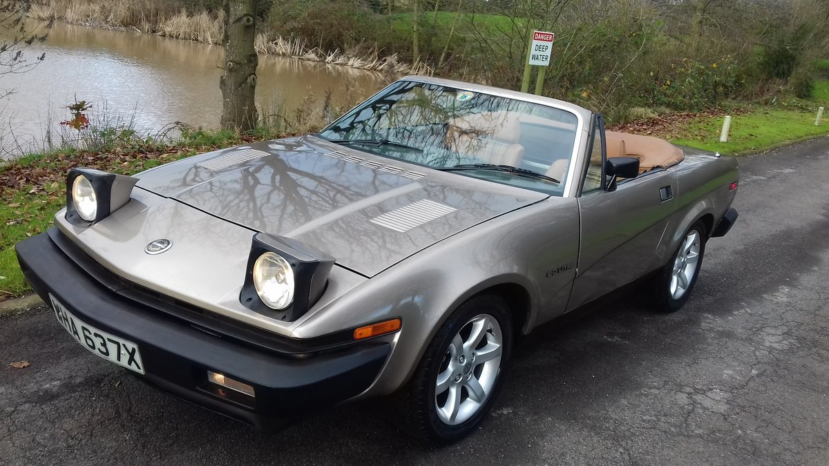 1982 TRIUMPH TR7 CONVERTIBLE~COOL LOOKING 'RETRO' DROPHEAD COUPE SOLD (picture 1 of 6)