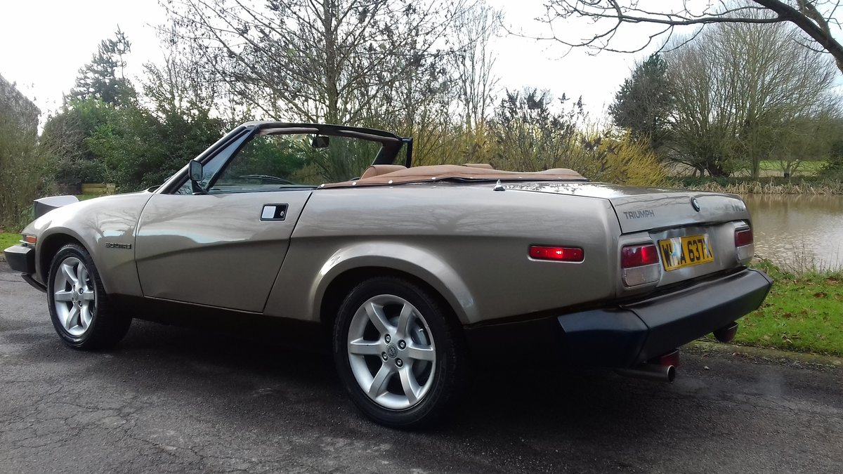 1982 TRIUMPH TR7 CONVERTIBLE~COOL LOOKING 'RETRO' DROPHEAD COUPE SOLD (picture 2 of 6)