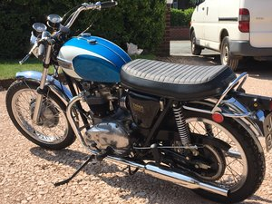 Triumph TR6 656 cc For Sale