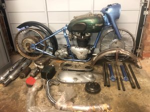1953 Triumph Thunderbird (Project) For Sale