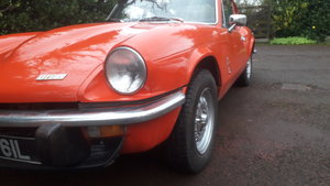 1972 Triumph GT6 mk3 in good useable condition