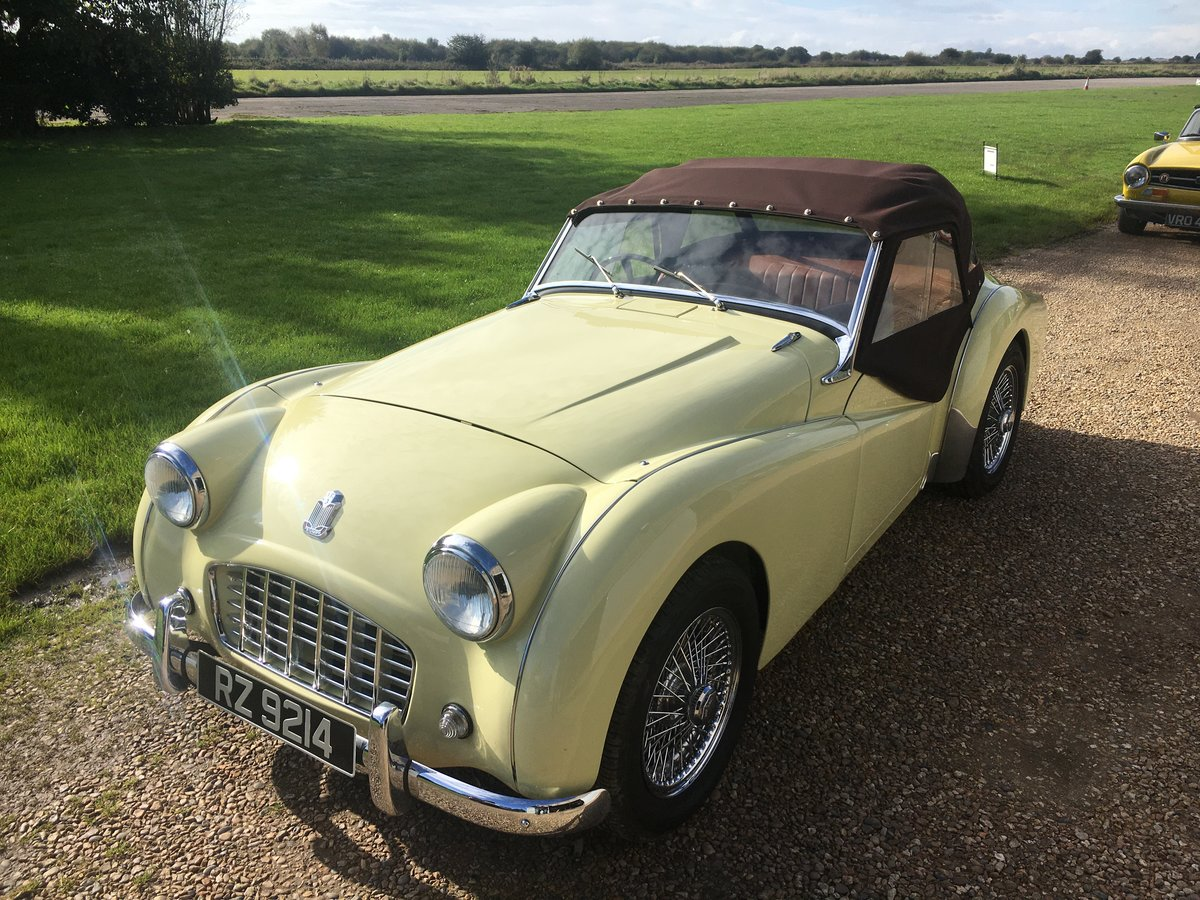 1957 Triumph TR3 Fully Restored For Sale (picture 1 of 6)