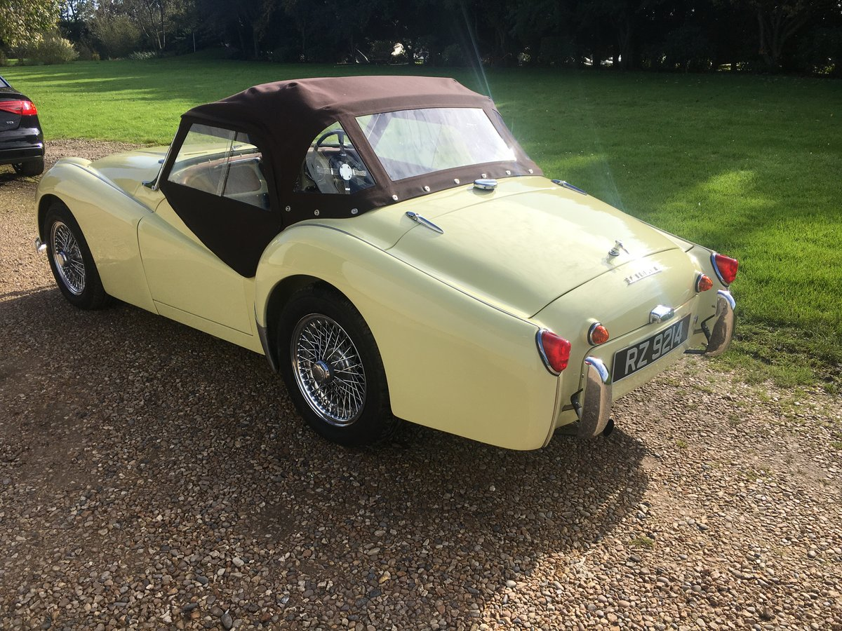 1957 Triumph TR3 Fully Restored For Sale (picture 2 of 6)