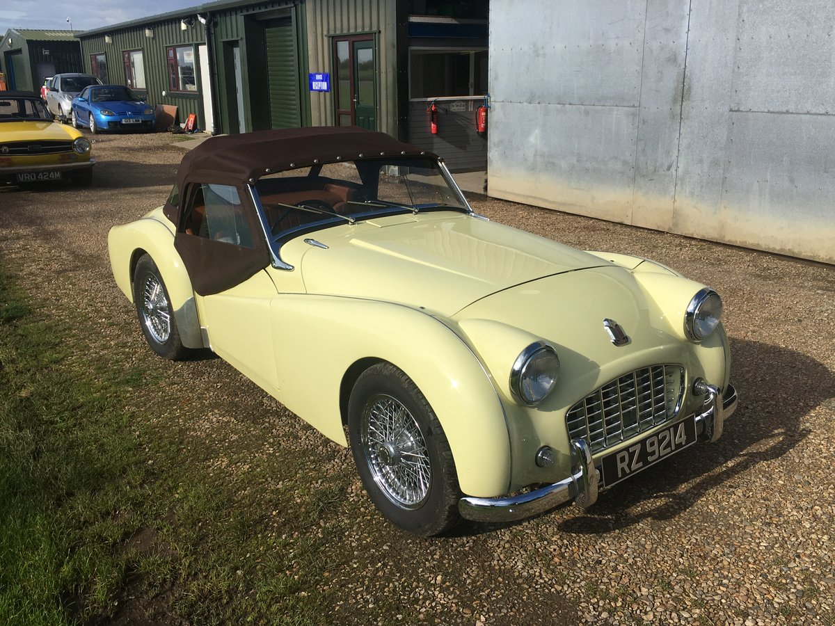 1957 Triumph TR3 Fully Restored For Sale (picture 6 of 6)