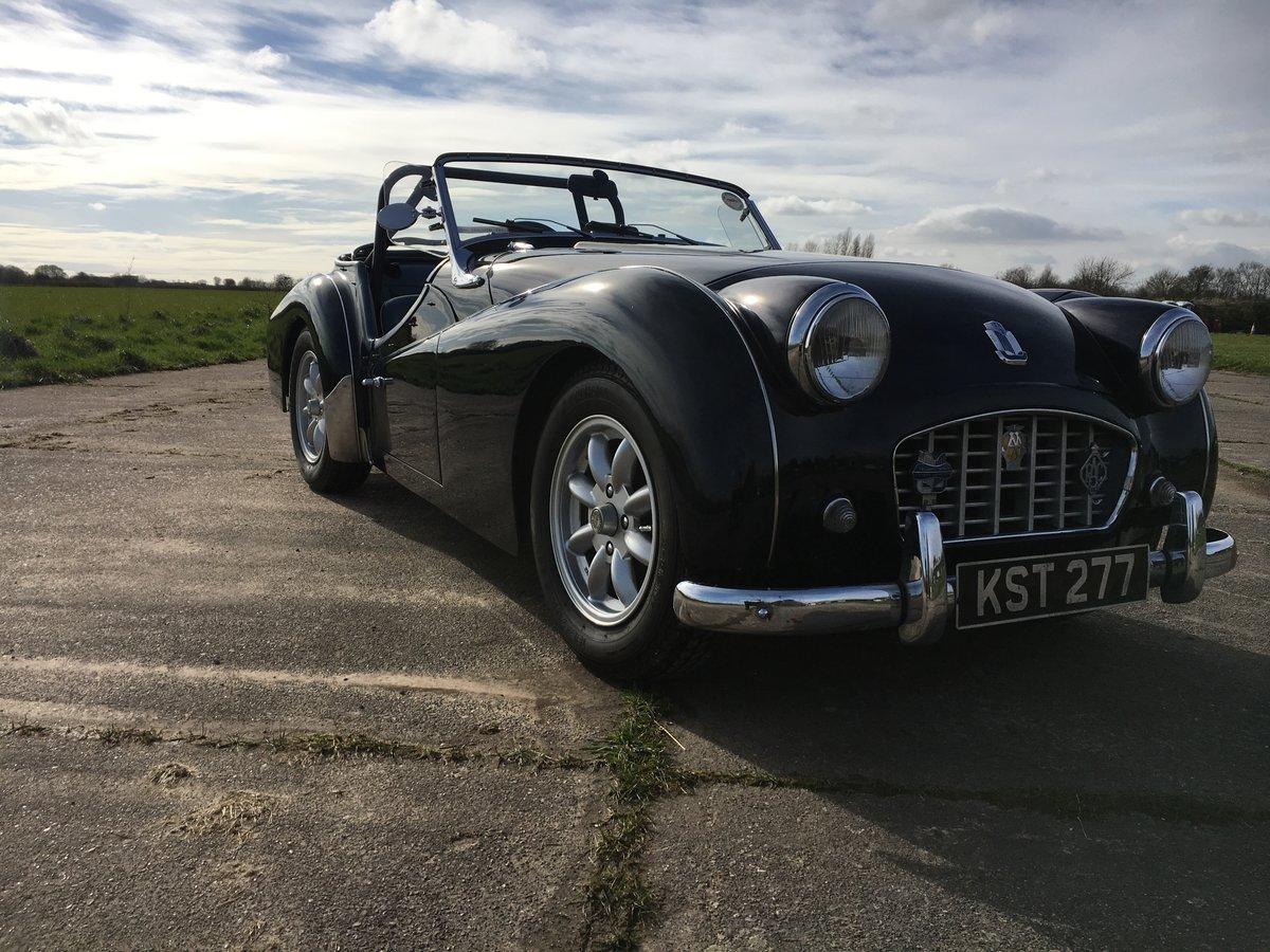 1956 Triumph TR3 For Sale (picture 1 of 5)