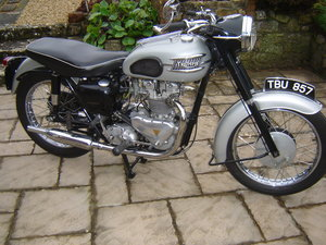 1959 Triumph motorcycle For Sale