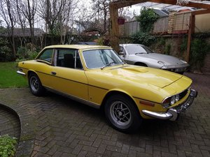 1973 Triumph stag convertible , hard top , light restoration For Sale
