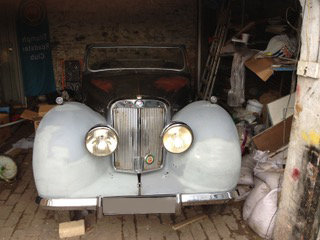 1948 Triumph Roadster 1800 Project