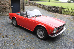 1972 Wanted Triumph TR6 Wanted