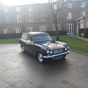 1968 Triumph Vitesse Estate Rare 1 of 14 Made