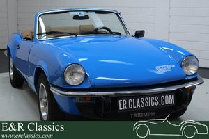 Triumph Spitfire 1500 Cabriolet 1979 Top condition For Sale