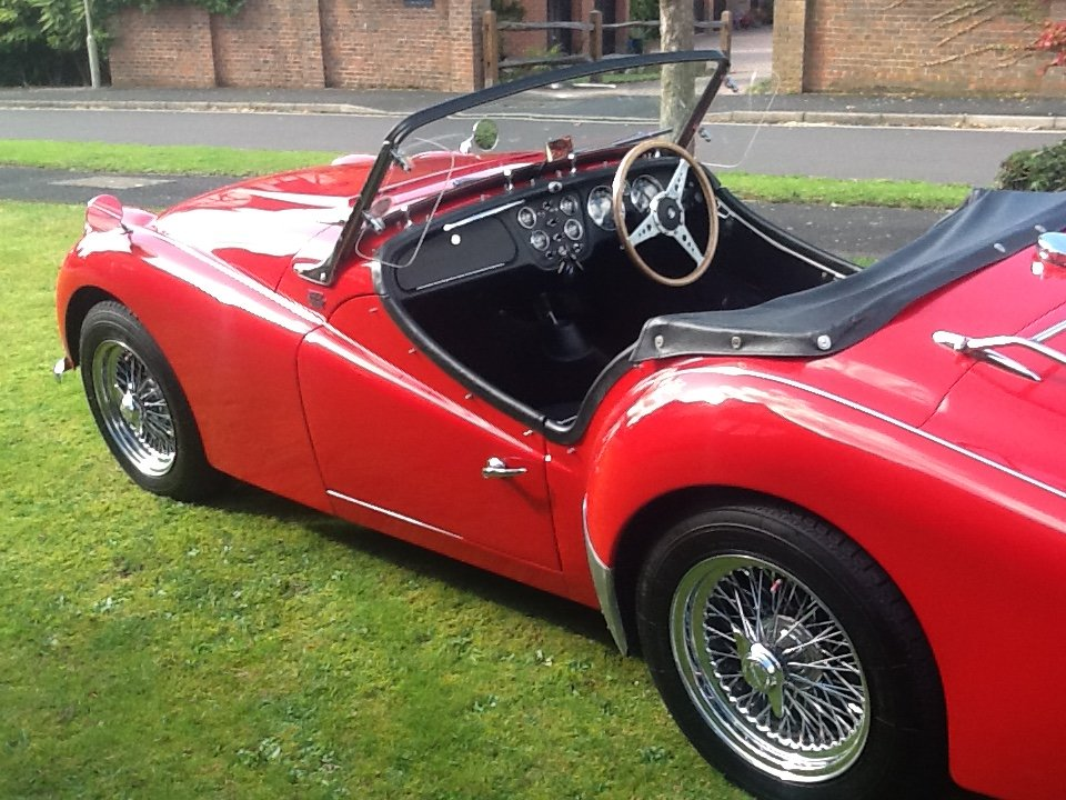 1958 Triumph TR3a UK car SOLD (picture 1 of 6)