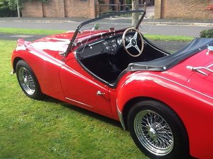 1958 Triumph TR3a UK car