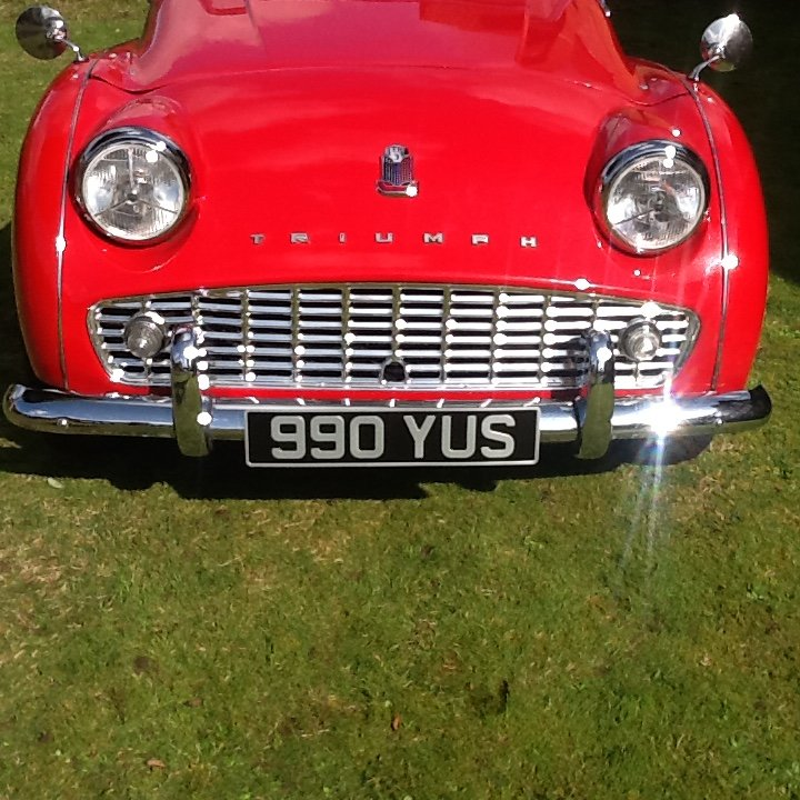 1958 Triumph TR3a UK car SOLD (picture 2 of 6)