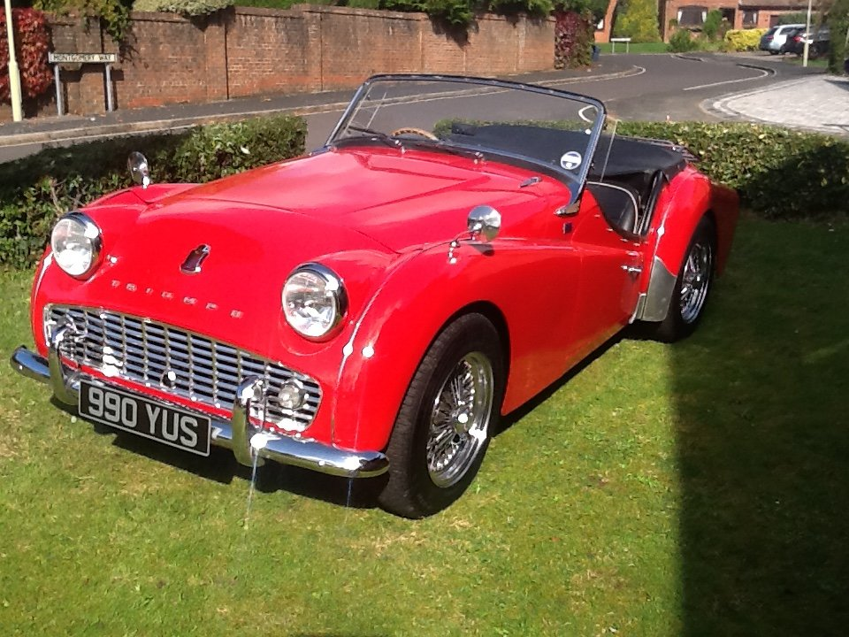 1958 Triumph TR3a UK car SOLD (picture 6 of 6)