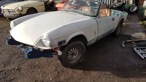 1976 Triumph Spitfire 1500 - Easy Project