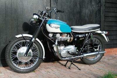 1966  Triumph TR6R Tiger