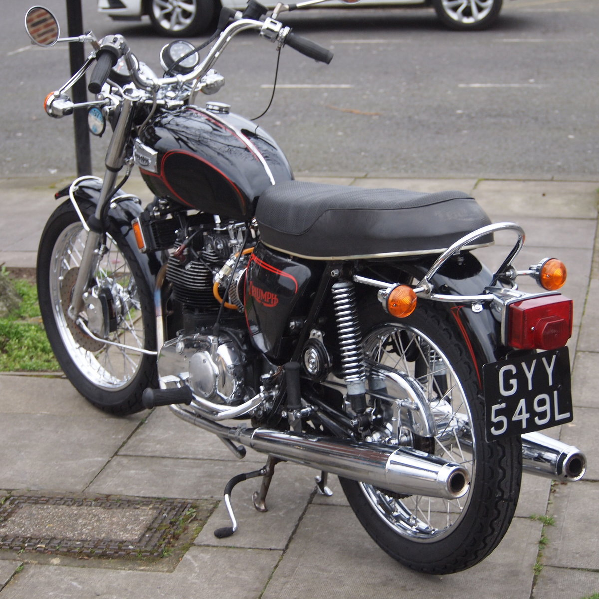 1973 Triumph T150V Triple 750cc Triple. RESERVED FOR ADRIAN. SOLD (picture 3 of 6)
