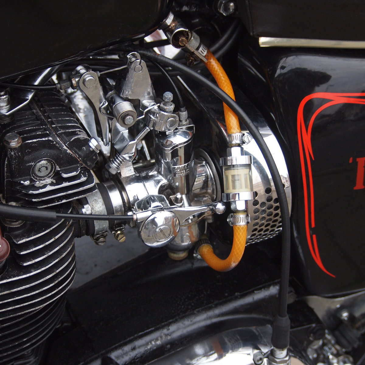 1973 Triumph T150V Triple 750cc Triple. RESERVED FOR ADRIAN. SOLD (picture 5 of 6)