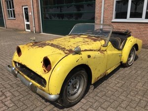1959 Triumph TR3A for restoration