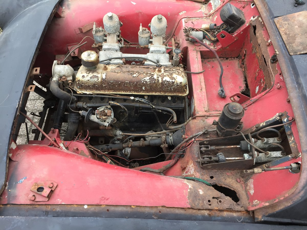 1959 Triumph TR3A for restoration For Sale (picture 4 of 6)