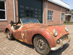 1960 Triumph TR3A for restoration