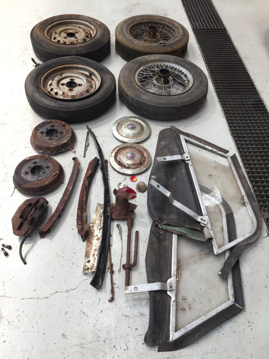 1960 Triumph TR3A for restoration For Sale (picture 6 of 6)