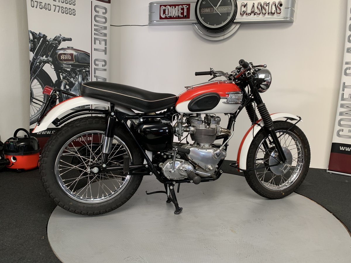 1958 Triumph TR6 650cc For Sale (picture 1 of 6)